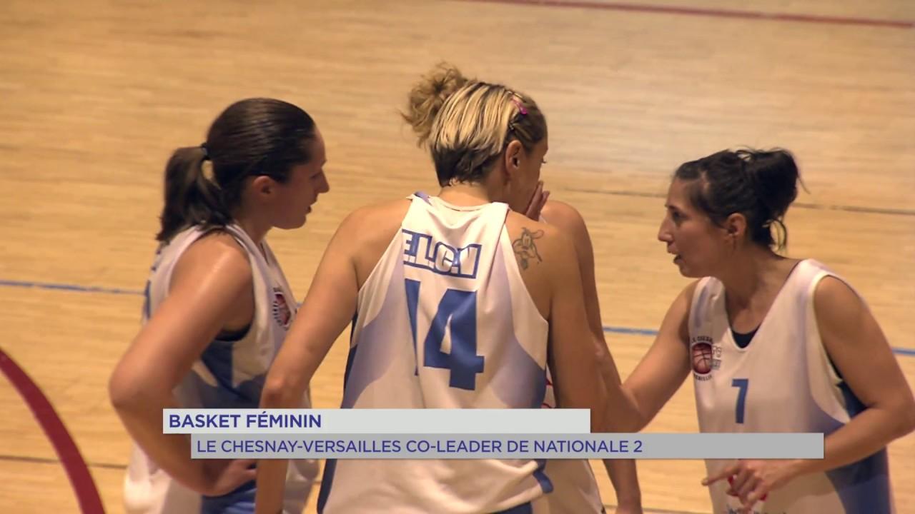 Basket féminin : Le Chesnay/Versailles co-leader de Nationale 2