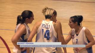 Basket féminin : Le Chesnay/Versailles co-leader de Nationale 2