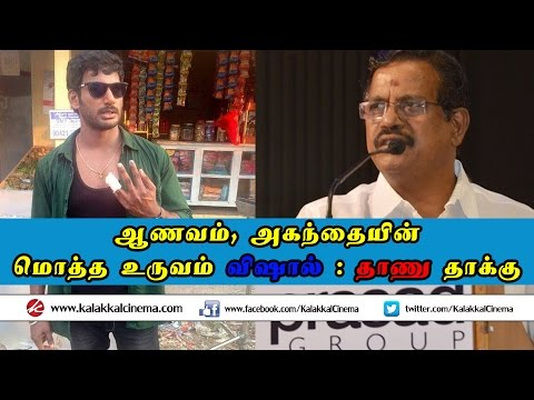 Producer Kalaippuli S Thanu slams Actor Vishal
