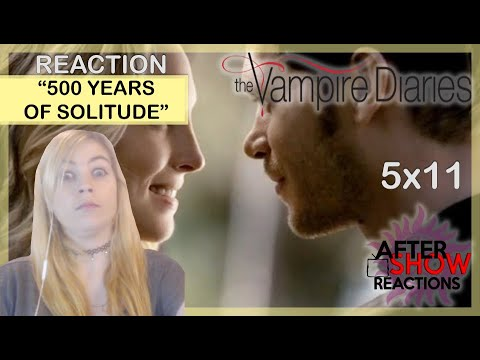 """The Vampire Diaries 5x11 - """"500 Years Of Solitude"""" Reaction Part 1"""