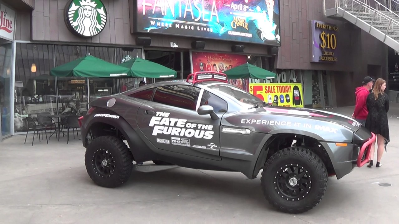 Rally Fighter Vehicle Used In The New Fate Of The Furious Movie