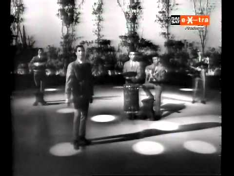 ♫ The Tokens ♪ The Lion Sleeps Tonight (Very Rare Italian TV Show 1963) ♫ Video & Audio Restored HD