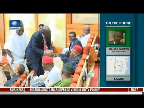 Politics Today: Legal Practitioner Condemns Senate Rejection Of Magu Yet Again