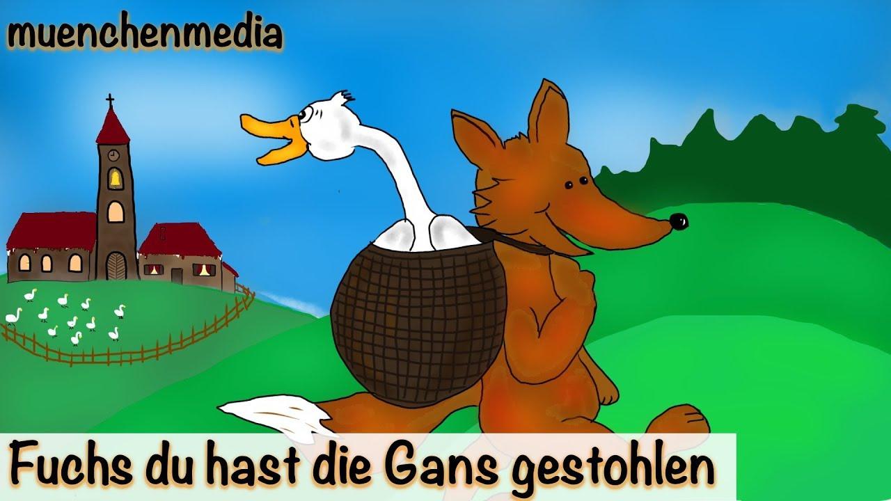 Fuchs Du Hast Die Gans Gestohlen Text