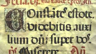 Music in the Middle Ages: Two Antiphonal Leaves