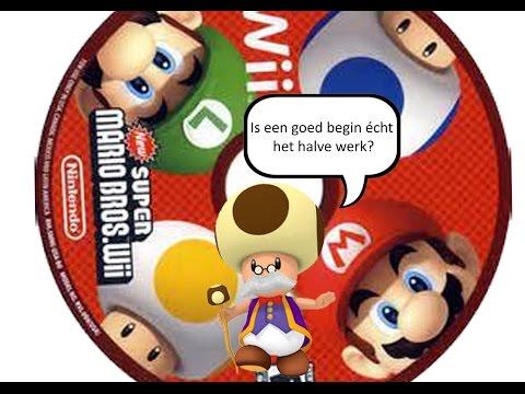 Let's Explain New SUPER MARIO BROS. Wii (NL/Dutch) | Hoe krijg je een goede start van je avontuur?