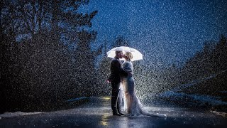 High School Sweethearts have Most Amazing Wedding in Freak Winter Rain Storm