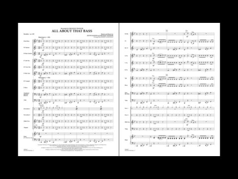 All About That Bass arranged by Robert Longfield