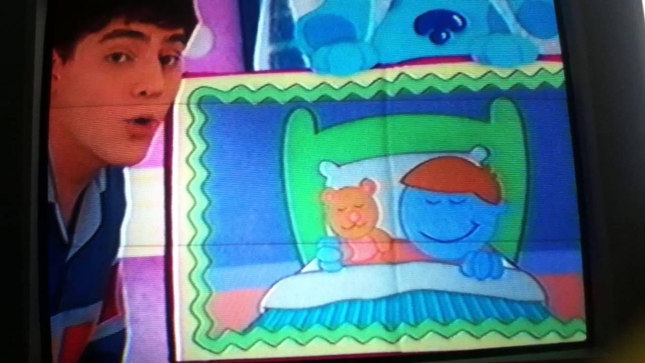 blue u0027s clues bedtime business ending scene youtube