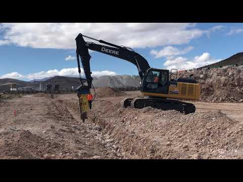 John Deere 210 Excavator in Sloan, Nevada