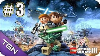 Baixar - Lego Star Wars 3 The Clone Wars Gameplay Español Capitulo 3 Hd 720p Grátis