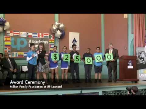 Milken Educator Award in Massachusetts