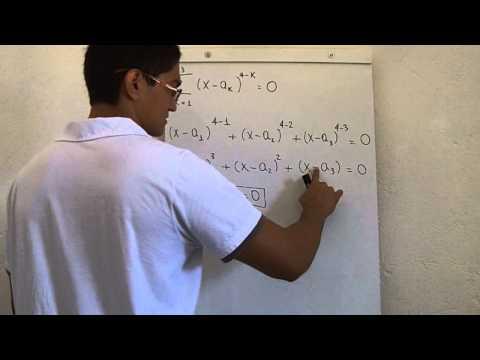 Equações polinomiais, P.G., Somatório (ITA, 2011, Questão 10)
