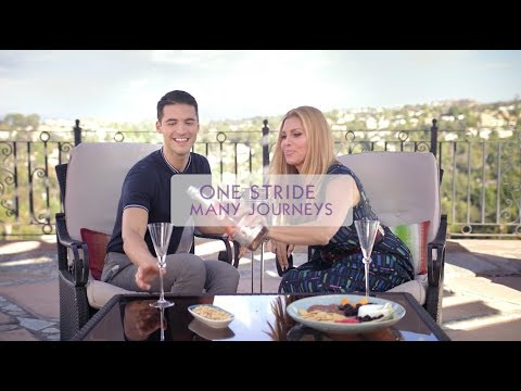 BAREFOOT  OUT: One Stride with Raymond Braun and Candis Cayne