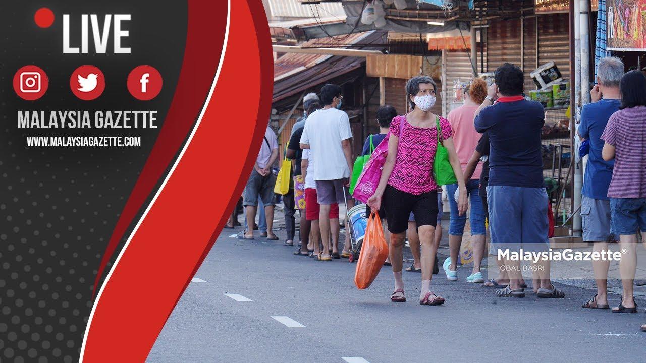 MGTV LIVE : Tinjauan Pasar Tani Serdang! Orang Ramai Beratur Panjang