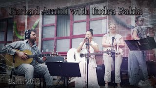 Download Farhad Amini is playing Guitar with Indra Bahia Mp3