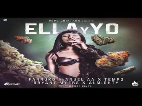 Ella Y Yo - Farruko Ft. Anuel AA, Tempo, Bryant Myers, Almighty (Prod. By Mambo Kings) [Lyric Video]