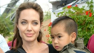 Angelina Jolie Talking About Cambodia - Video