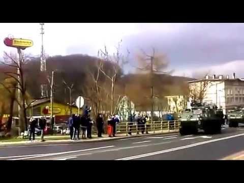 Ukraine War ~ US Army Dragoon Ride convoy going through Eastern Europe now in Poland