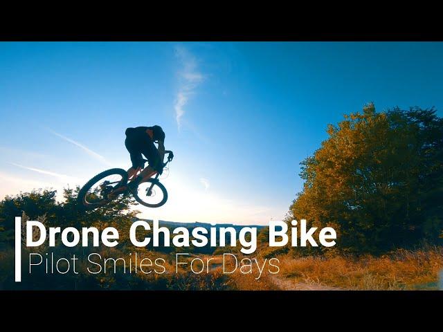 Drone Chasing Bike | Flottsbro Bikepark | Fpv Drones