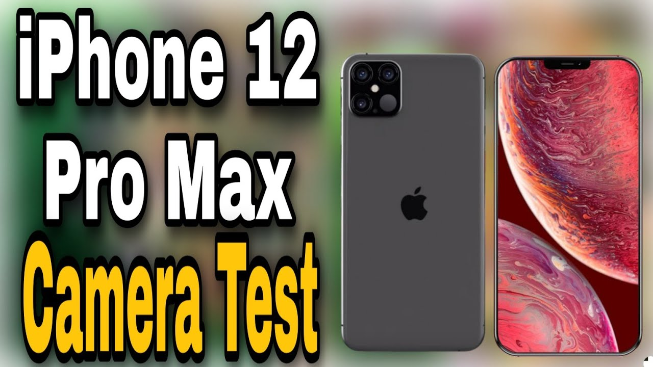 iPhone 12 Pro Max Camera Test - YouTube
