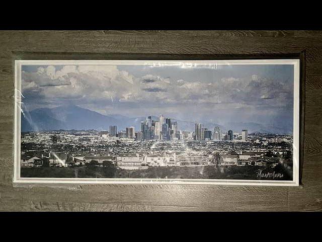 Milk It Media - Milk It Media's Los Angeles Skyline Canvases