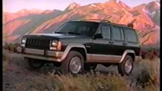 Jeep Cherokee and Grand Cherokee running footage and commercial
