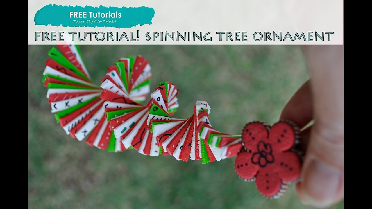 Spinning Christmas Ornaments