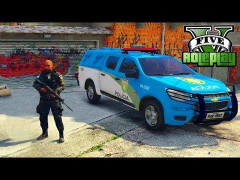 GTA V: BRASIL RP - A NOVA POLÍCIA do RIO DE JANEIRO!!! #133