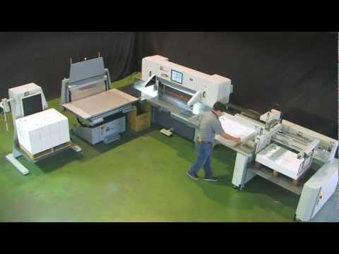 LONGER Paper Cutting Machine System / Paper Guillotine System