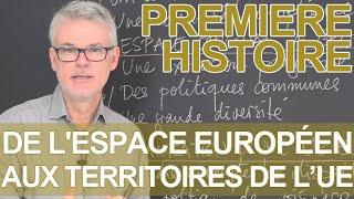 De l'espace européen aux territoires de l'UE - Histoire-Géographie - 1ère - Les Bons Profs