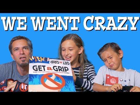 No Thumbs Challenge - Get a Grip Game | Josh Darnit