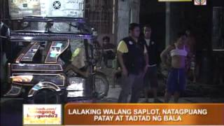 Man shot dead in Taguig