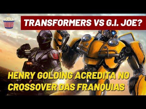 """Crossover entre 'Transformers' e 'G.I. Joe'? Henry Golding acha """"100% possível"""""""