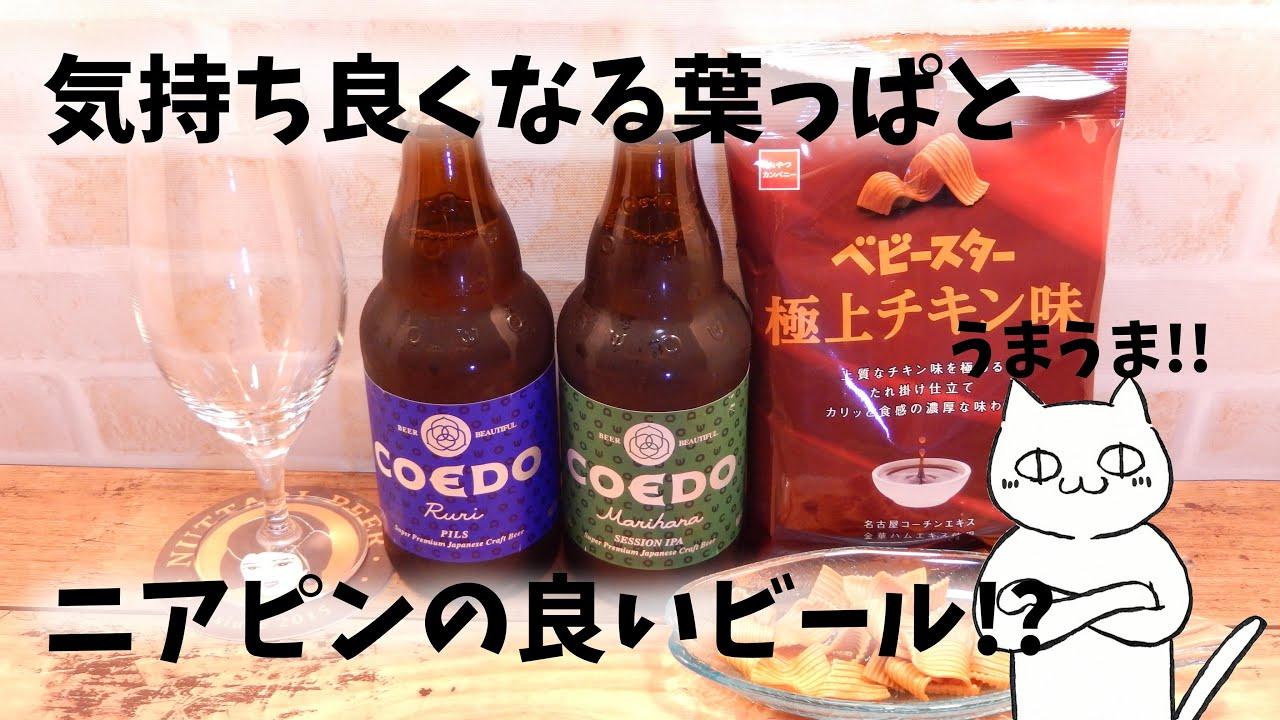 【COEDOビール】ちょっと良いビールのピルスナーとセッションIPAが最高でした God tried drink