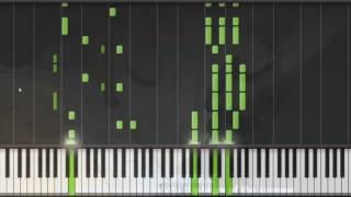 Repeat youtube video Naruto Shippuden Opening 5 Piano-Hotaru no Hikari- Synthesia