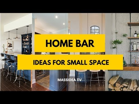 50+ Best Modern Home Mini Bar Ideas for Small Space 2018