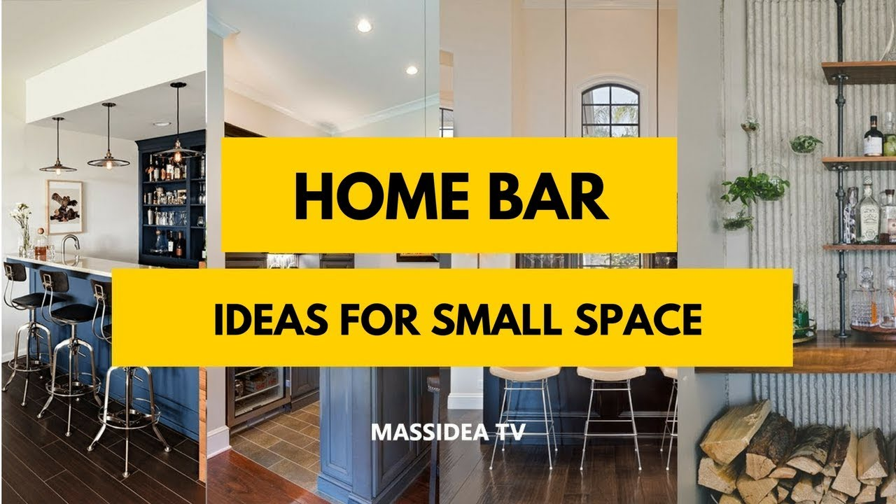 50+ Best Modern Home Mini Bar Ideas for Small Space 2017 - YouTube