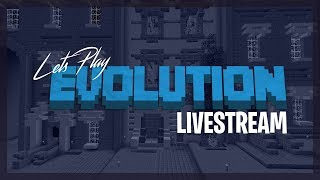 🔴 BUILDING BUILDING BUILDING! - Minecraft Evolution SMP - LIVE