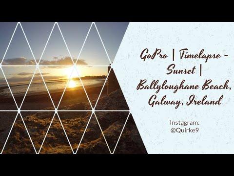 GoPro | Sunset Timelapse | Ballyloughane Beach, Galway, Ireland |
