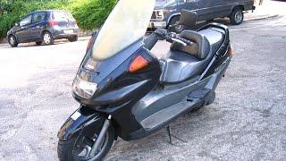 Обзор Yamaha Majesty 250 1997 скутер мотоцикл ямаха маджести     # RL-motor