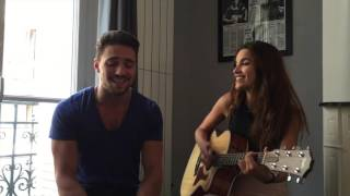 Stitches  - Shawn Mendes (Acoustic cover by Olivier Dion and Gabriella)