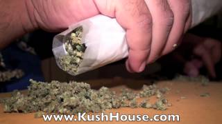 Roll a 56g Joint [Exclusive KushHouseTV] guide HD