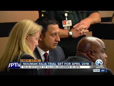 Nouman Raja trial in Corey Jones case delayed until April 2018