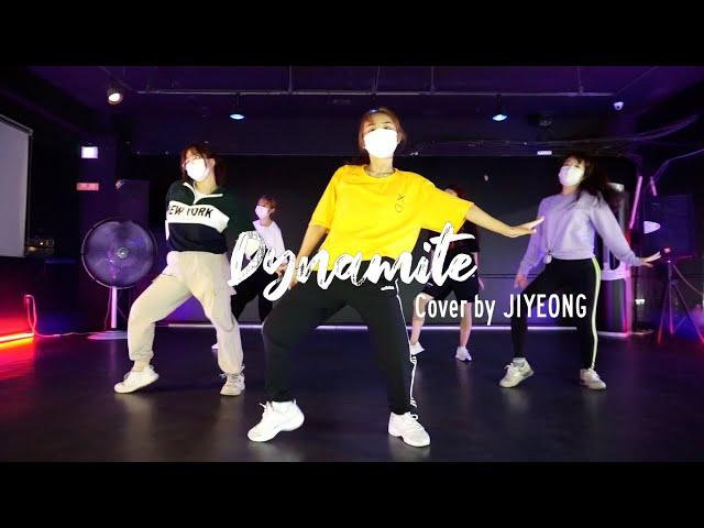 EZDANCE I 서인천점 I 이지댄스 I 방탄소년단(BTS) - 'Dynamite' COVER by JIYEONG