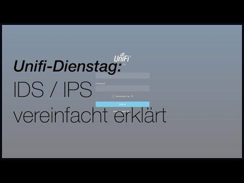 Unifi - IDS und IPS kurz erklärt - YouTube