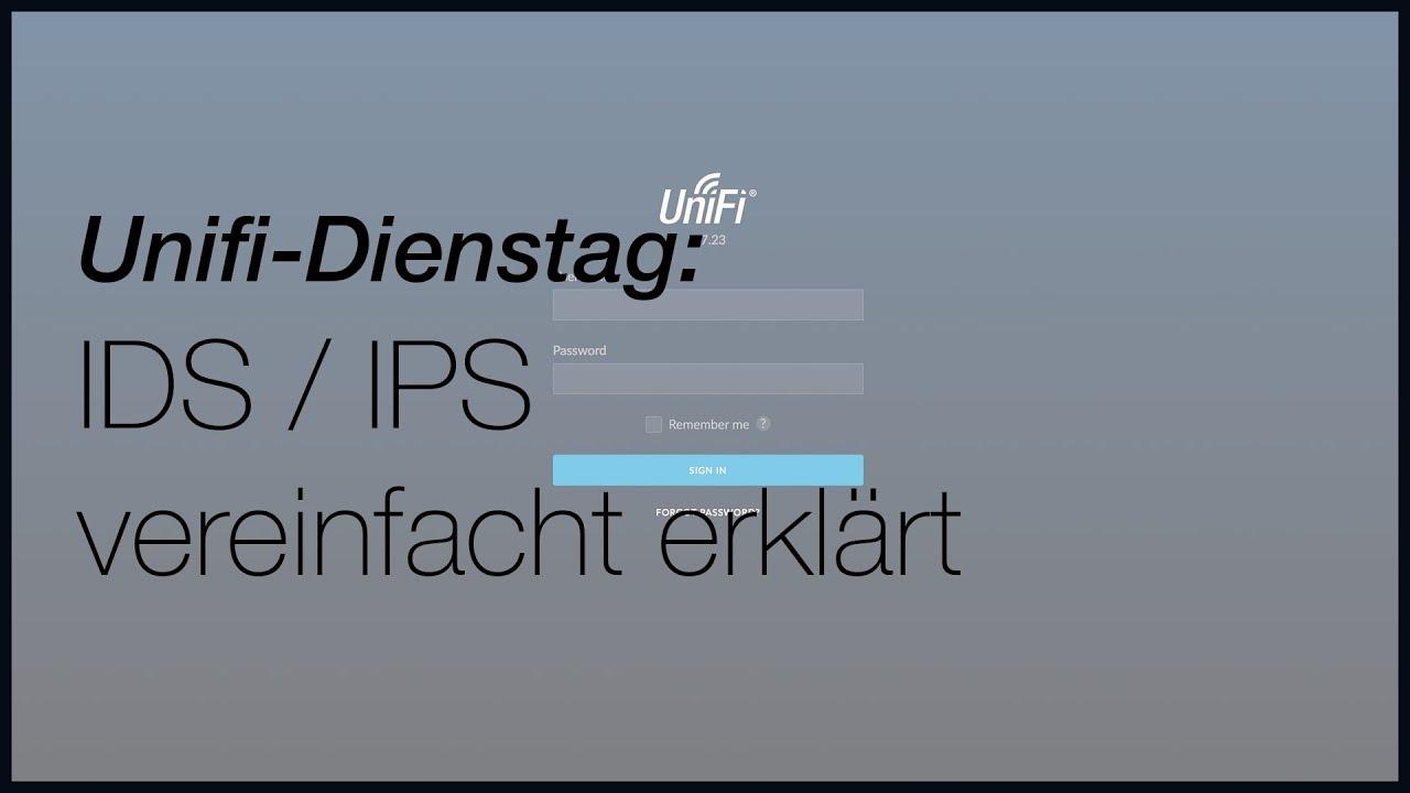 Unifi - IDS und IPS kurz erklärt