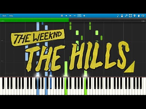 The Weeknd - The Hills - Piano Cover / Tutorial