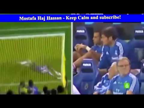 Casillas reaction on Diego Lopez save VS Villareal