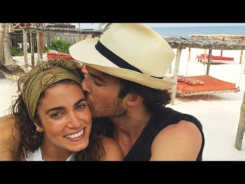 Nikki Reed   Ian Somerhalder   Stars Welcome 1st Child — A Baby Girl